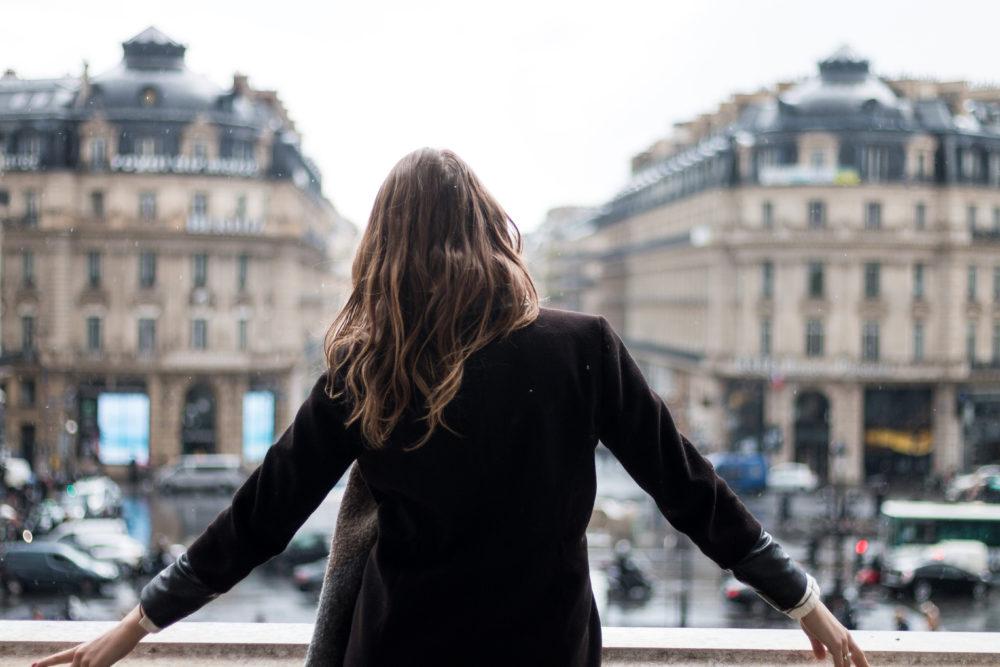 Overlooking Paris Palais Garnier