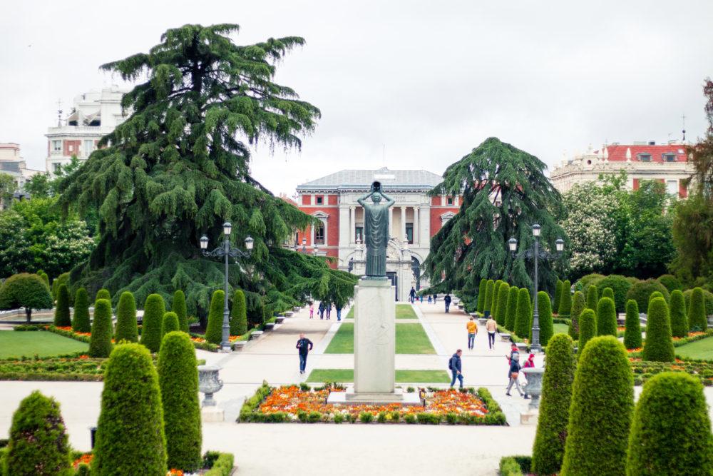 El retiro Park Madrid Gardens