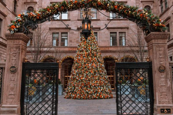 Lotte New York Palace Christmas Tree