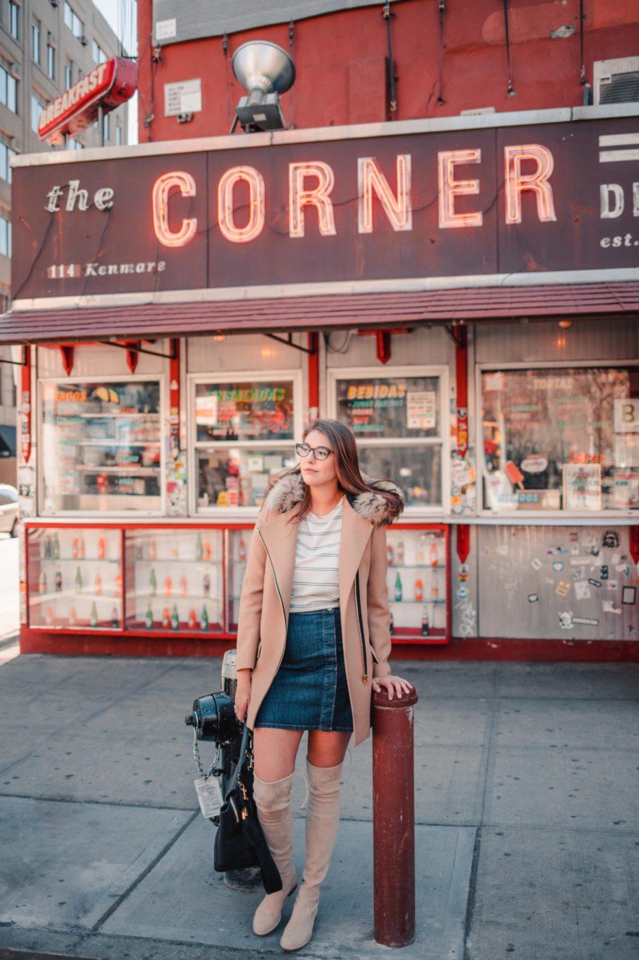 NYC Instagram Spots: Soho La Esquina