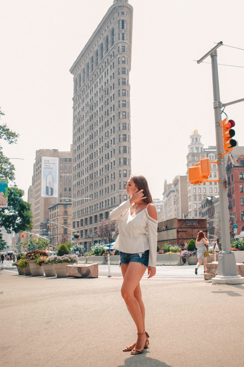 NYC Instagram Spots: Flatiron Building