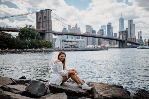 nyc instagram spots: brooklyn bridge park