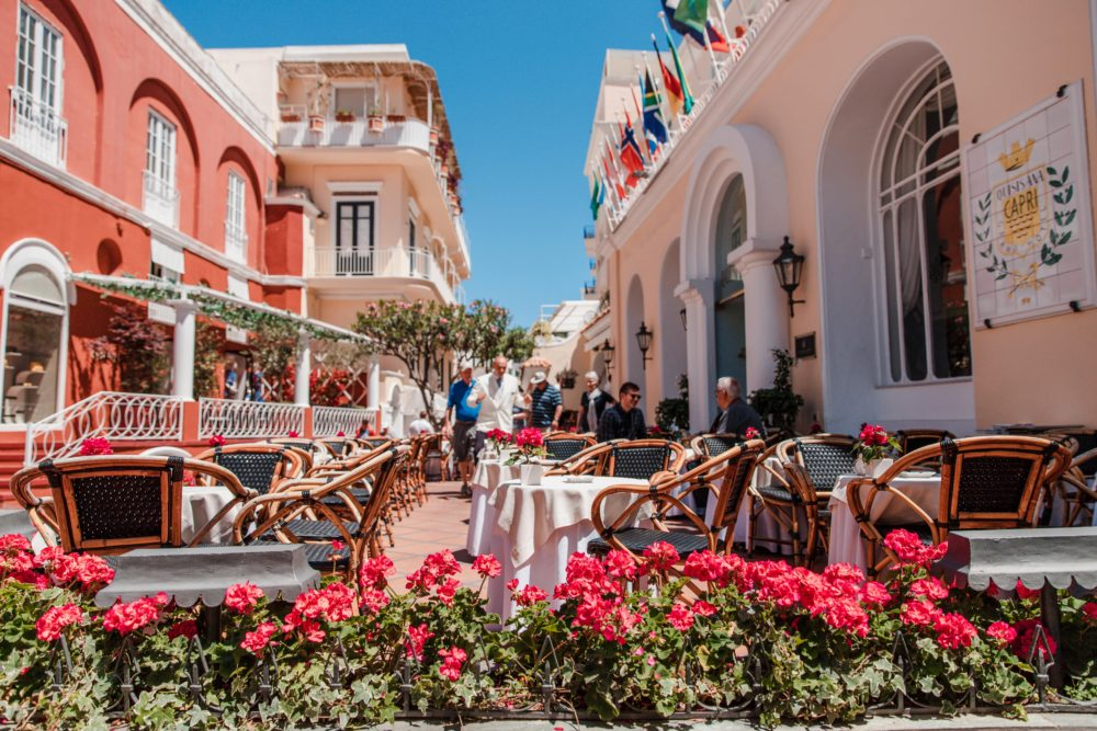 Day Trip to Stunning Capri, Italy | 9 Things You Shouldn't Miss: Via Camerelle | Dana Berez Travel