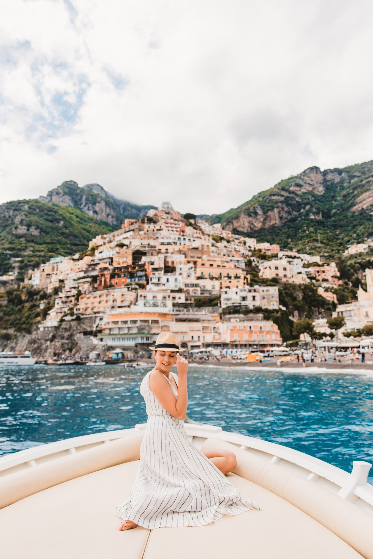 Unforgettable Experience Sailing Along the Amalfi Coast Italy | Positano Summer Travel Day Trip