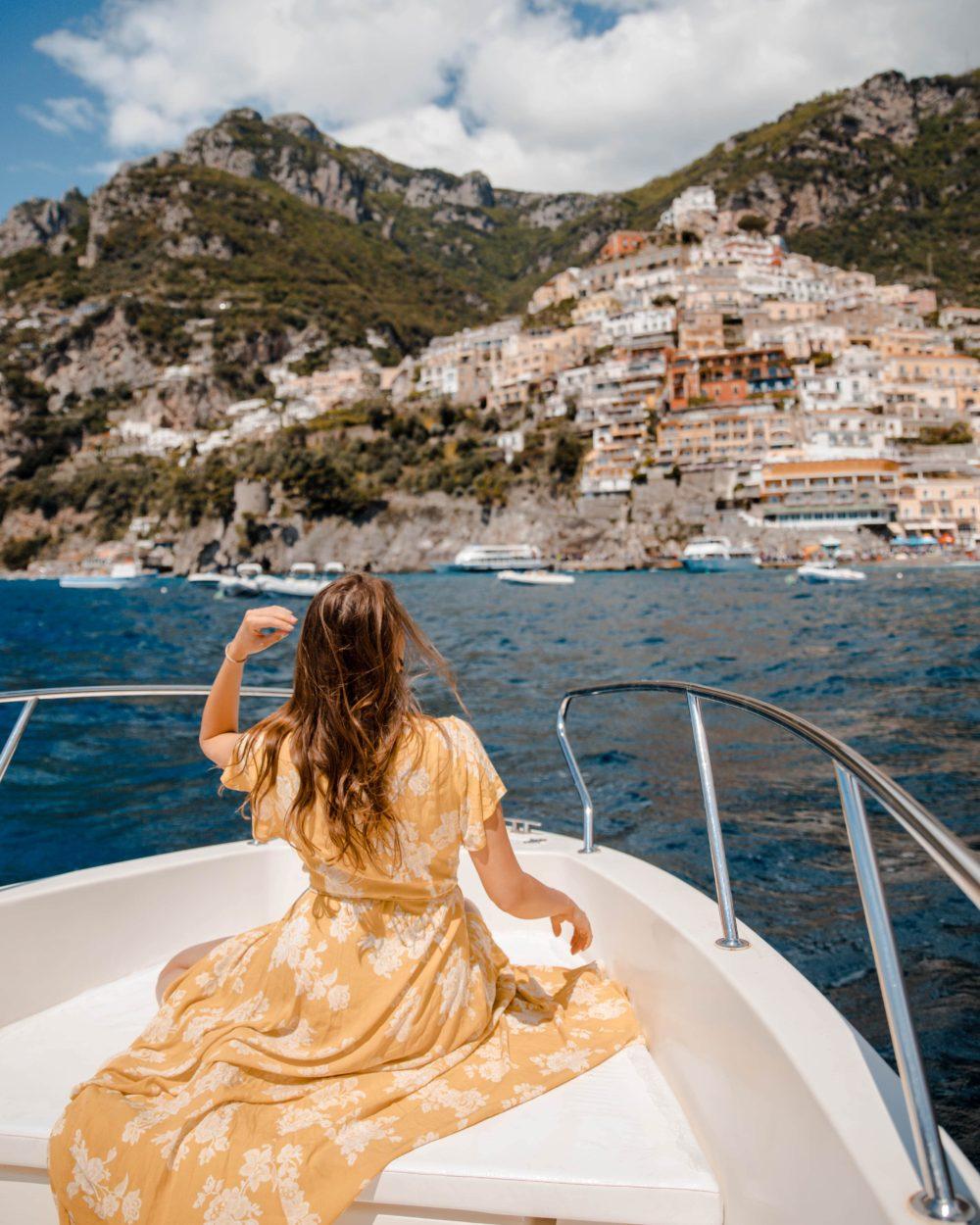 Boat Tour Positano