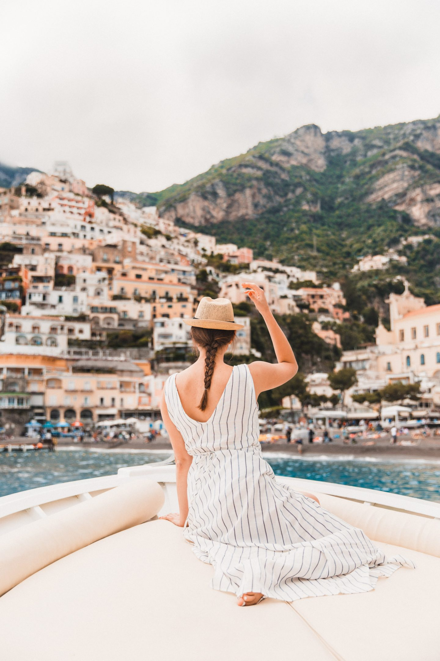 The Best Positano Instagram Shots | 12 Beautiful Shots You Can't Miss: Amalfi Harbor