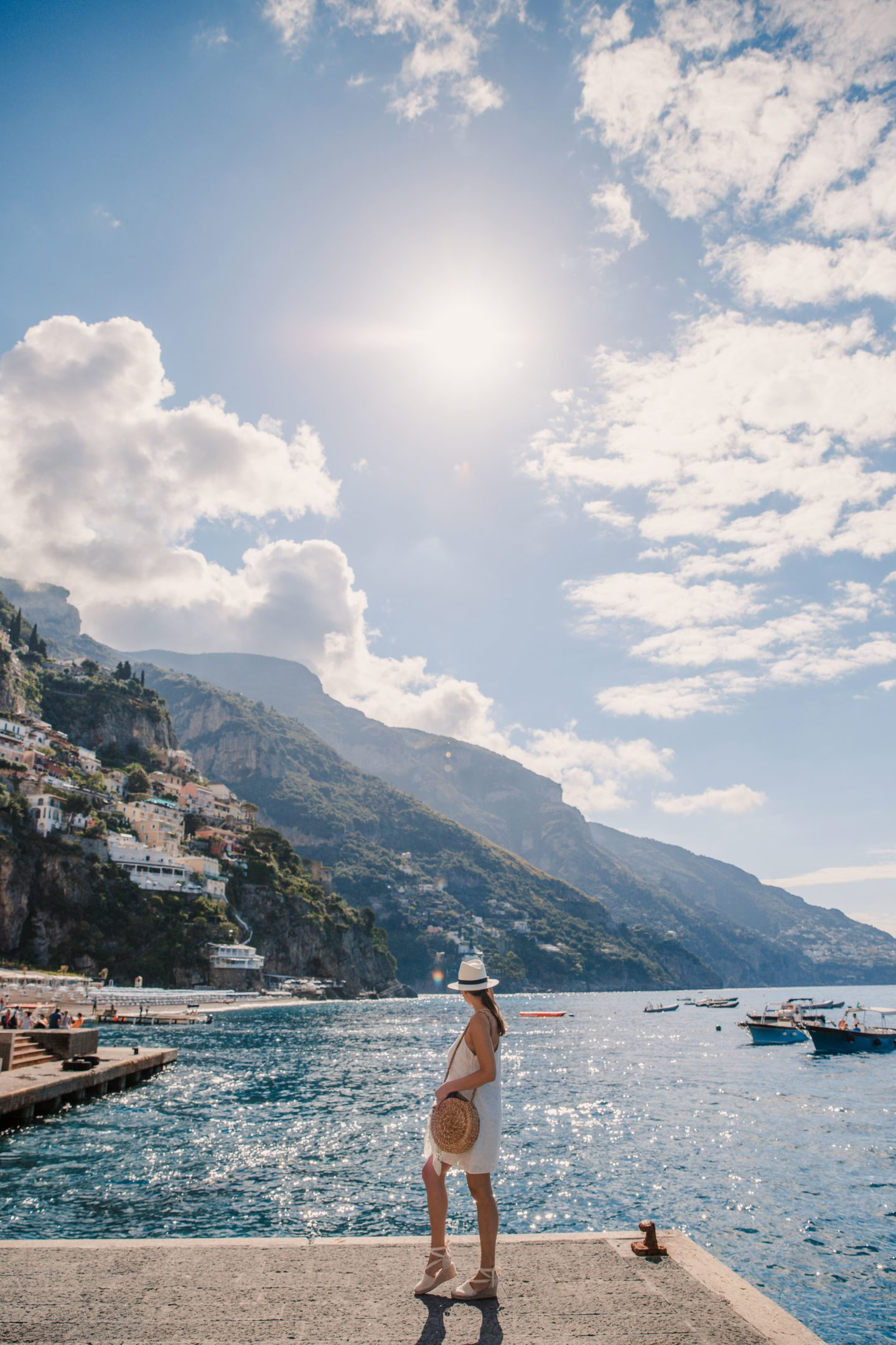 The Best Positano Instagram Shots | 12 Beautiful Shots You Can't Miss: The Marina