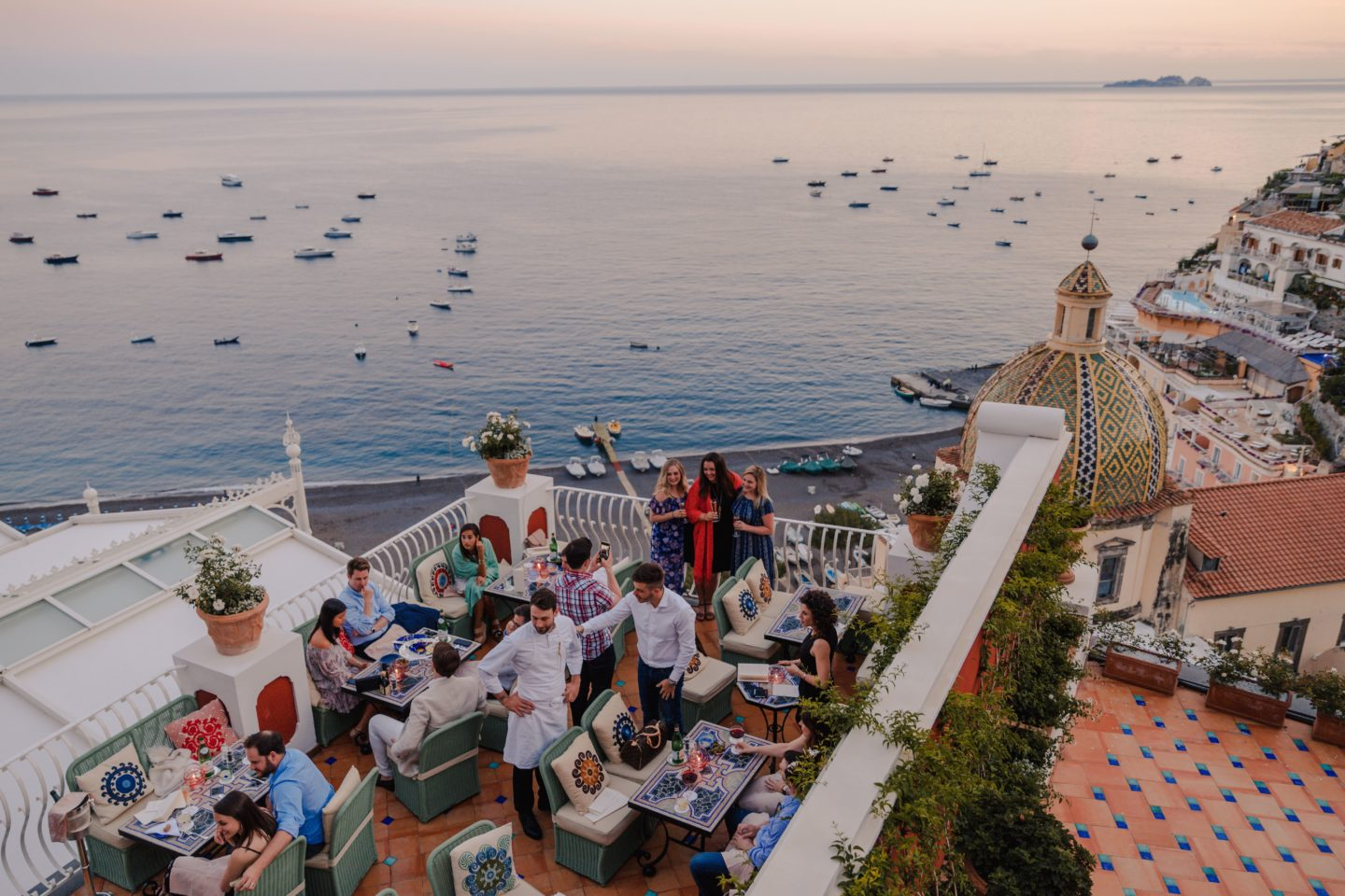 The Best Positano Instagram Shots | 12 Beautiful Shots You Can't Miss: Franco's Bar Le Sirenuse