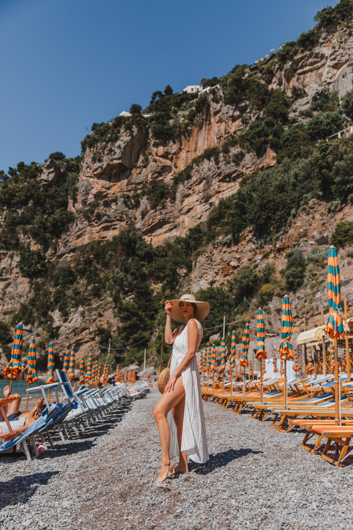 The Best Positano Instagram Shots | 12 Beautiful Shots You Can't Miss: Fornillo Beach