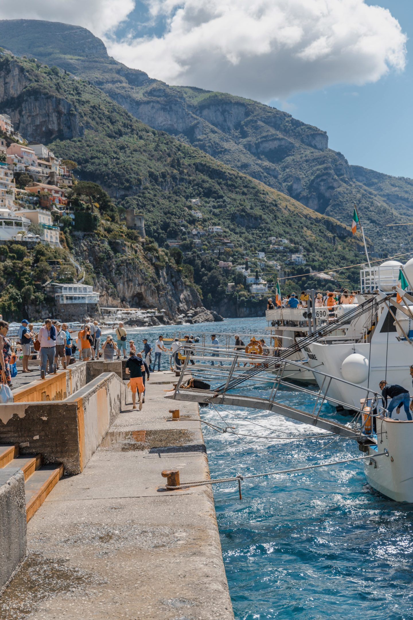 The Only Positano Travel Guide You Need | Top Positano Travel Tips: Ferry