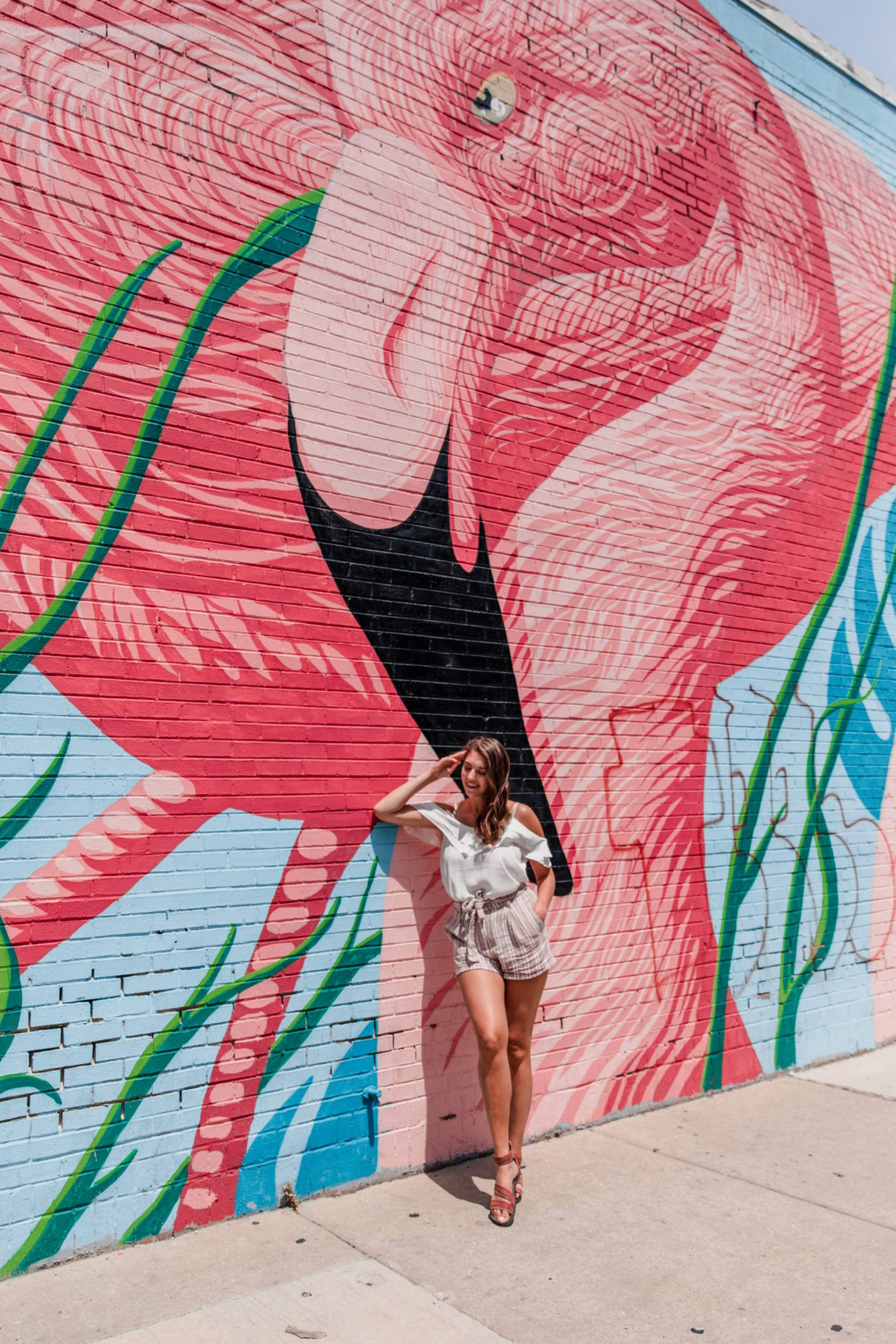 Chicago Travel Guide | What to Do: Find the Flamingo Wall