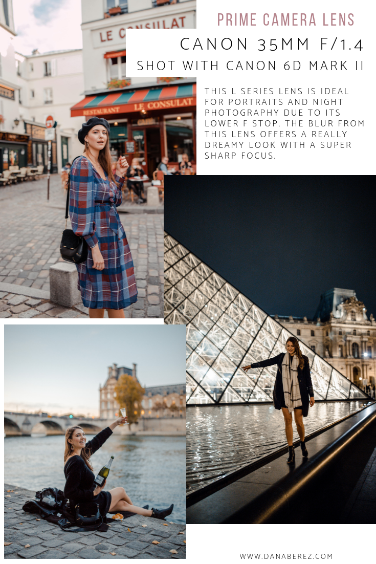 Best Cameras for Travel Bloggers and Instagram Camera Guide for blogging| Best Camera Lens | Canon Prime 35MM Photography Examples | Dana Berez Travel Blog
