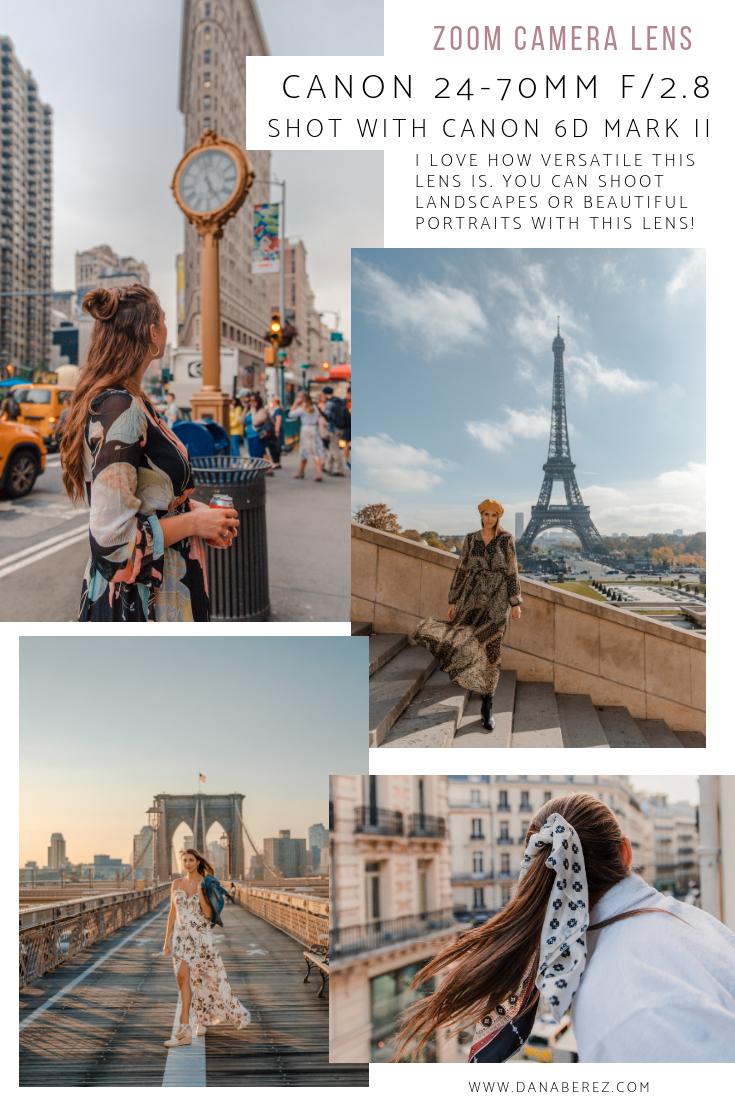 Best Cameras for Travel Bloggers and Instagram | Best Camera Lens | Canon Zoom Lens Photography Examples | Dana Berez Travel Blog
