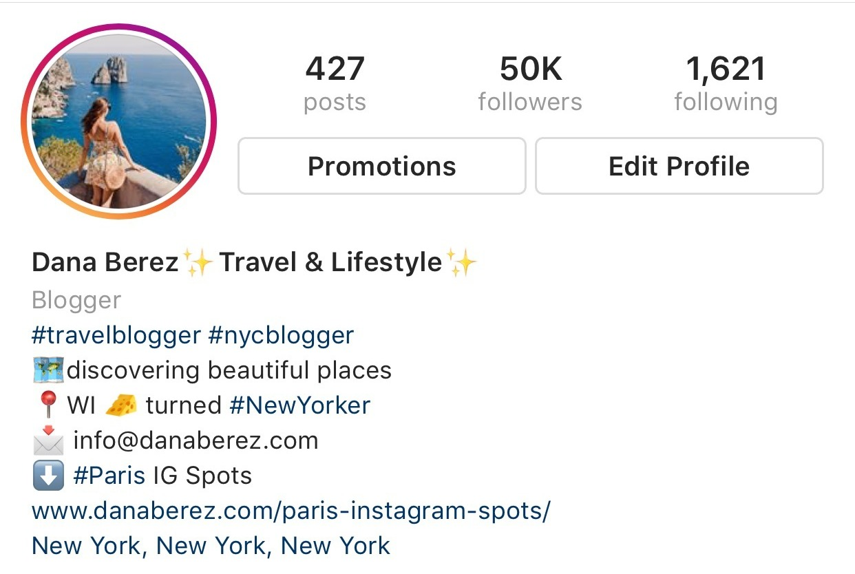 Dana Berez Instagram Feed | Secret Instagram Growth Tips That no one tells you | Organic Instagram Growth Tips from nyc travel blogger dana berez | How to Grow your Instagram following in just one year | Instagram Tips
