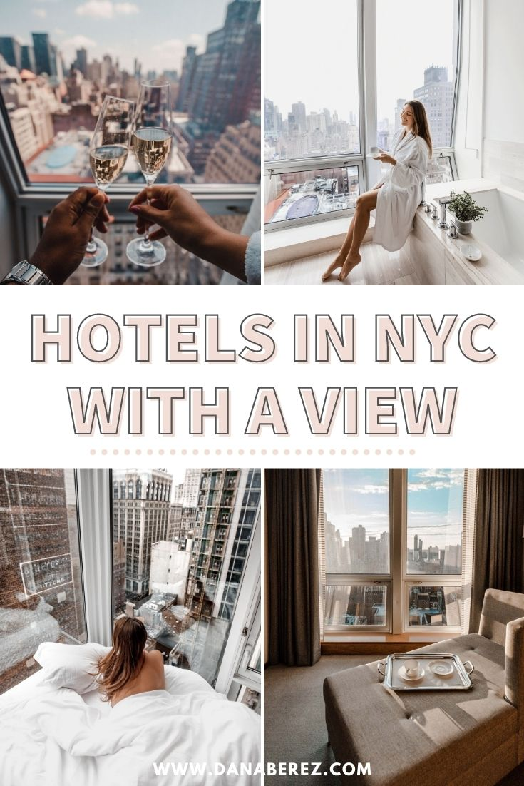12 Hotels in NYC with a View