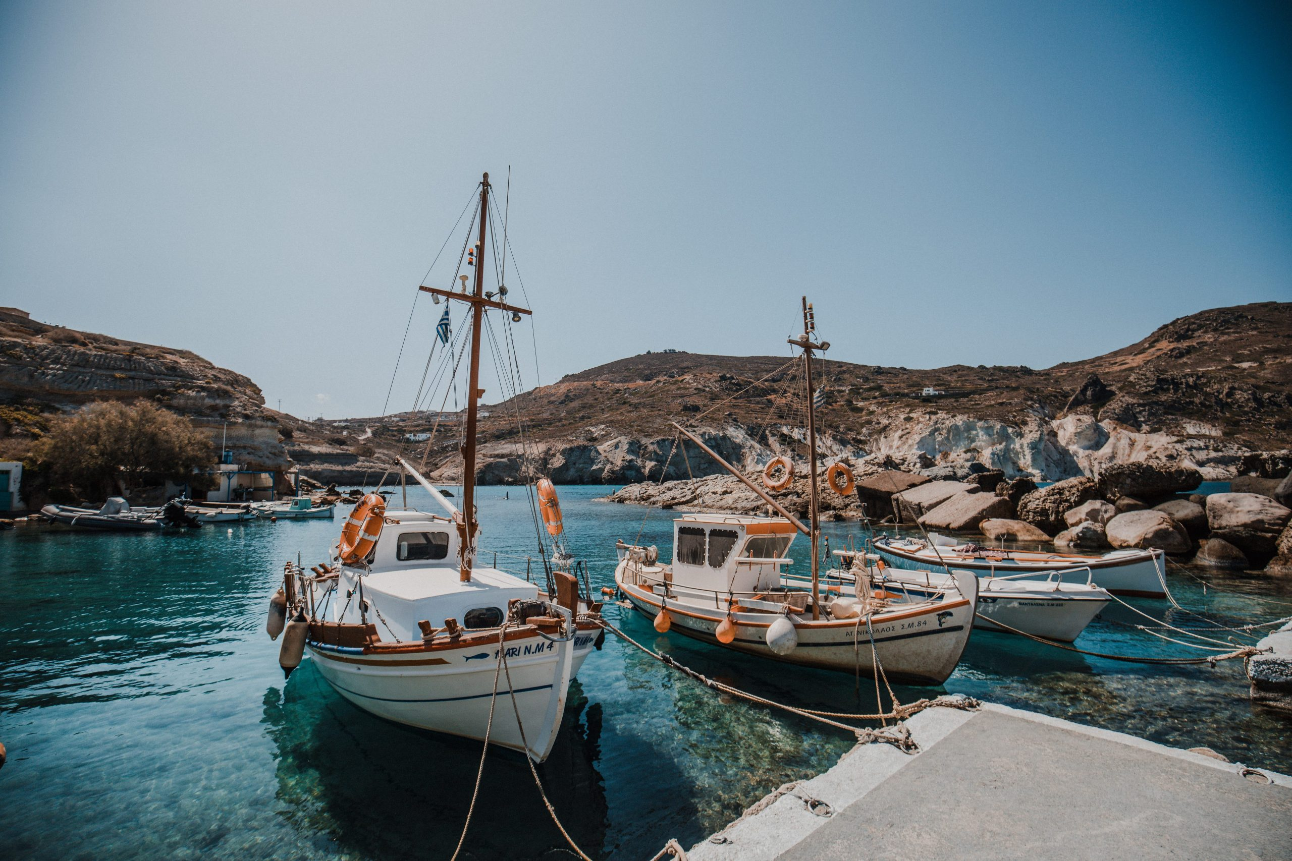 Ultimate Milos Greece Travel Guide | Everything You Need to Know | Dana Berez Greece Travel Guide