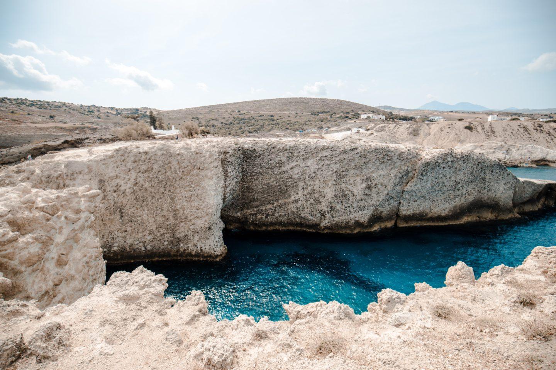 papafragas beach milos island