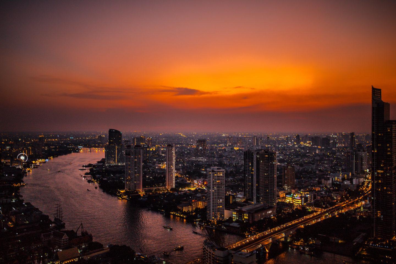 Lebua Hotel Bangkok Sunset