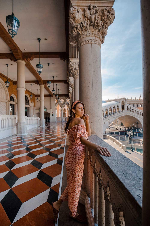 The Venetians Las Vegas Balcony