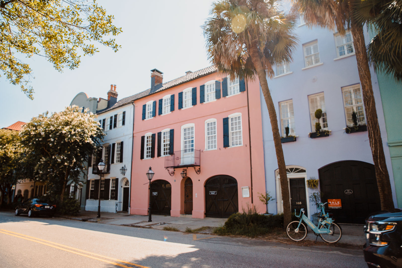 Rainbow Row Charleston Charleston Weekend Getaway Guide