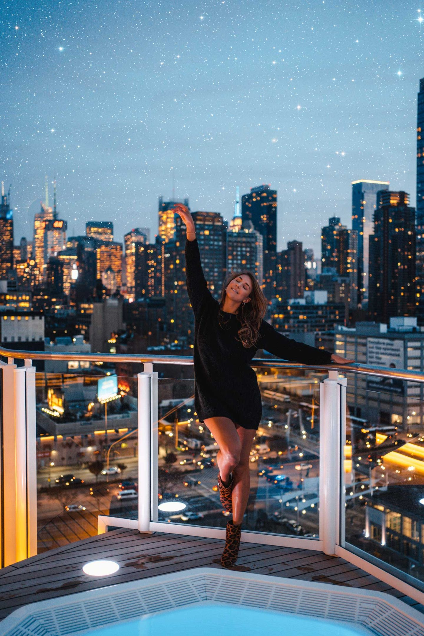 In this easy photoshop tutorial, I will show you how to add Stars fast in Photoshop in under 5 simple steps! Perfect for adding stars to your Instagram photos quick and easy. Photoshop tutorial for beginners. New York City night photography