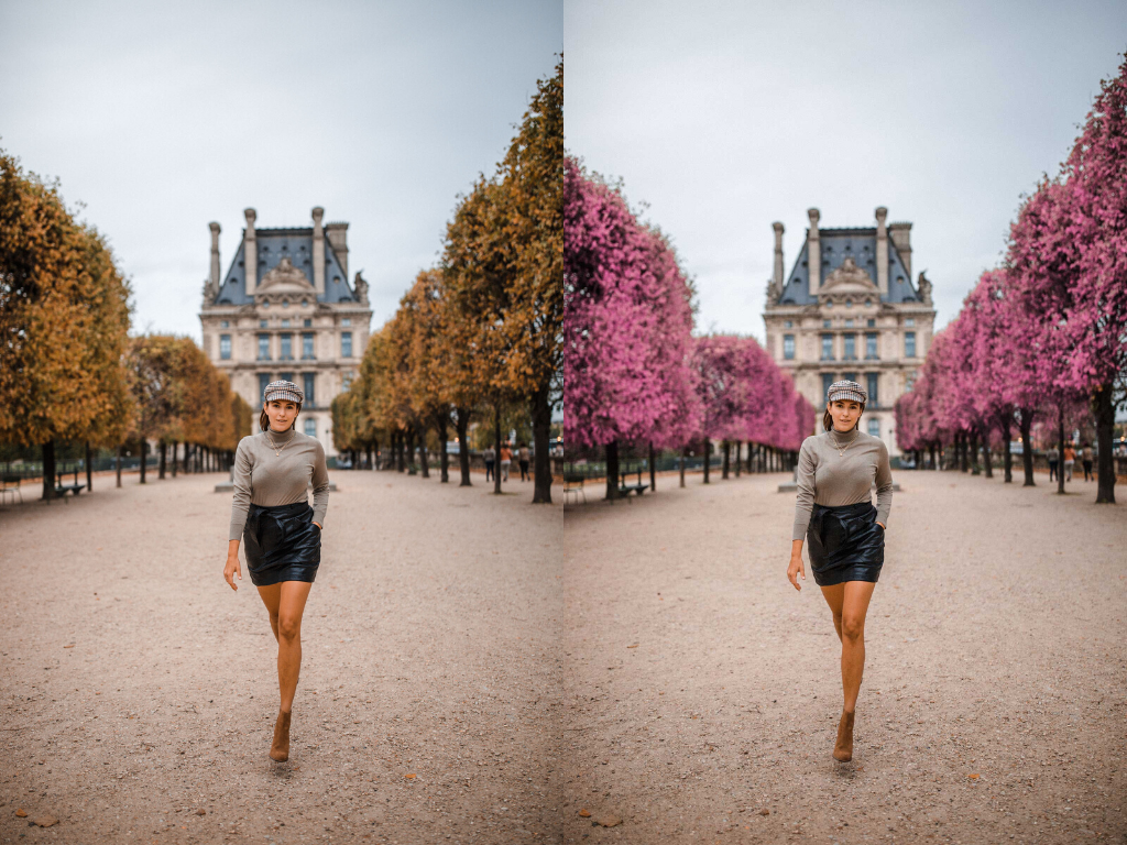 How to Change Leaf Coloring photoshop