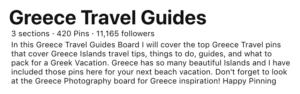 Pinterest Board optimization