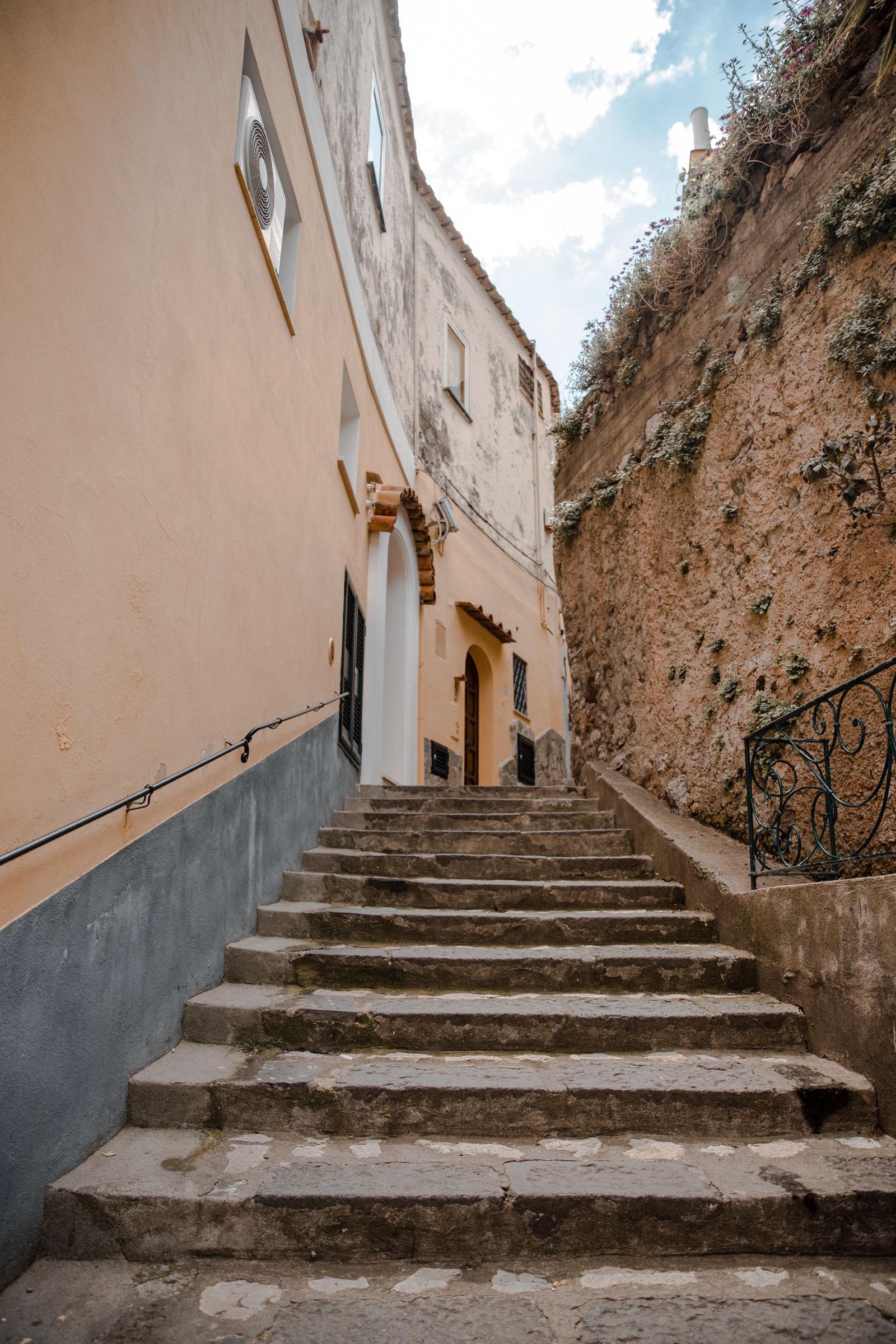 positano stairs