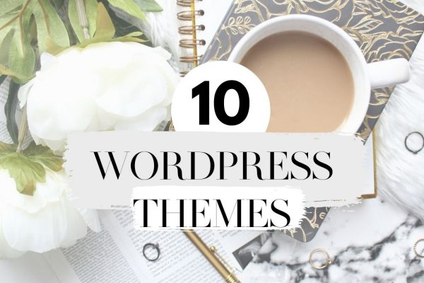 10 stylish Wordpress themes for bloggers under $60. Best themes for bloggers.