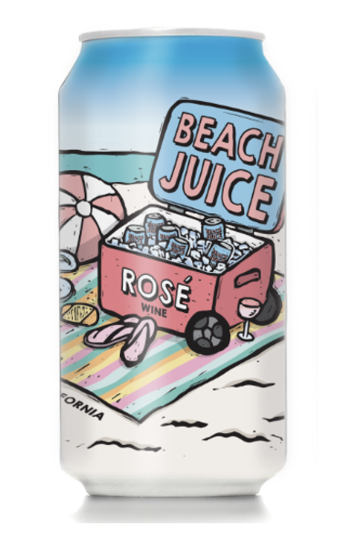 Rose Wine in a Can