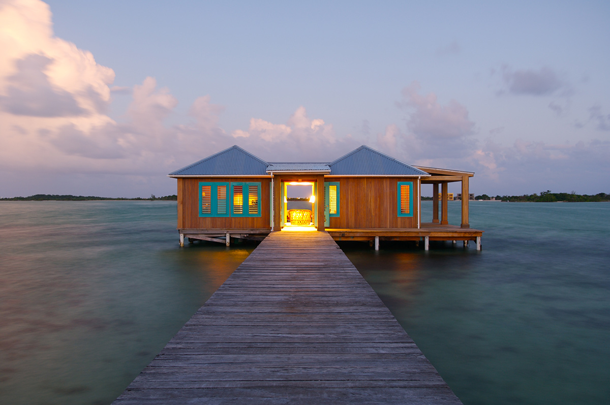 best overwater bungalows caribbean