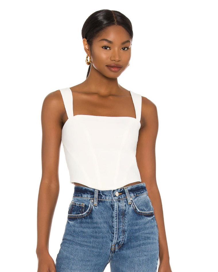 corset crop top
