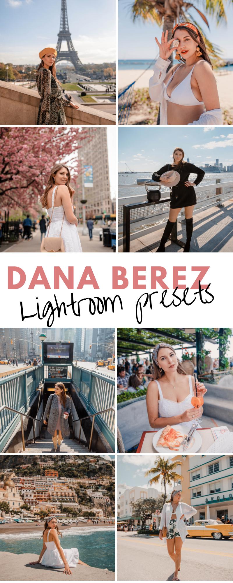 Blogger Lightroom Presets for Instagram Dana Berez Presets Bundle 1