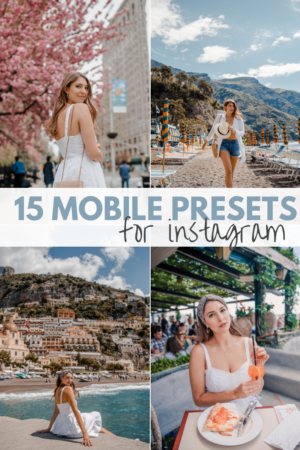 Best Lightroom Mobile Presets for Instagram Dana Berez | Photo Editing Filters
